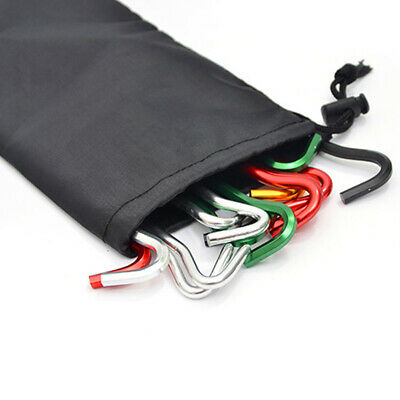 Outdoor Portable Camping Hiking Gadget Pouch  Drawstring Closure Storage Bag US