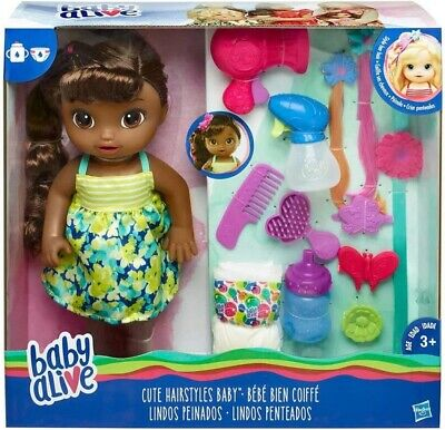 BABY ALIVE CUTE HAIRSTYLES BABY AFRICAN AMERICAN