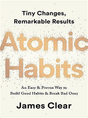 Atomic Habits by James Clear Hardcover