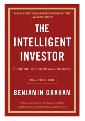 The Intelligent Investor The Definitive Book on Value Investing paperback