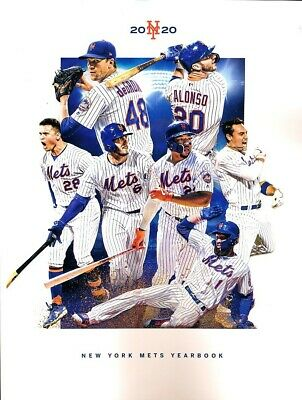 2020 New York Mets Yearbook - Shipped in a Box