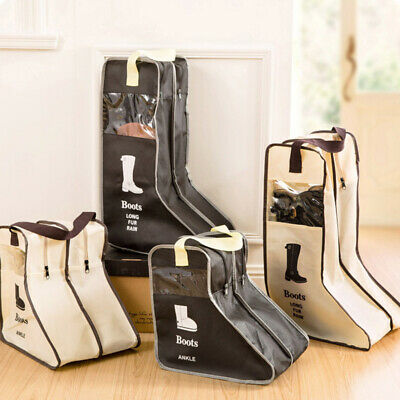 Large Boots Shoe Storage Bag Pouch Dustproof Long Boot Cover Organizer Container