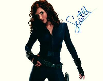 Scarlett Johansson signed 8x10 Photo Picture autographed and COA