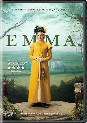 Emma 1-Disc DVD 2020 New - Sealed Free Shipping US Seller