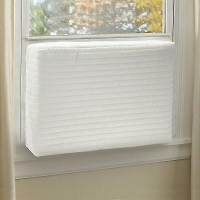 Square Window Air Conditioner Cover-Indoor-Quilted-Heat Stays In-Cold Air Out