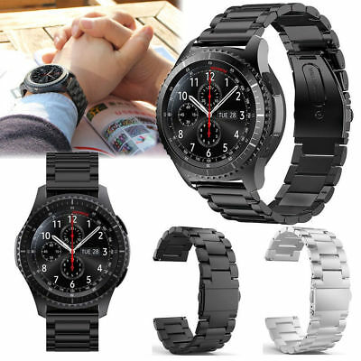 Stainless Steel Strap Watch Band For Samsung Galaxy Gear S3 FrontierClassic US