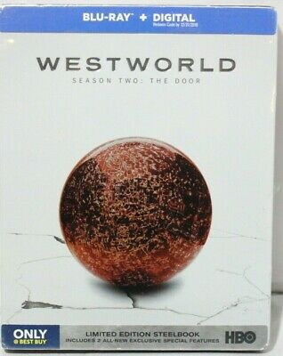 Westworld Season Two The Door  -  Bu Ray and Digital -  Best Buy Steelbook