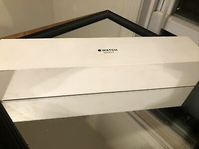 GENUINE Apple Watch Series 3  space grey aluminum 42mm BOX - User Guide ONLY