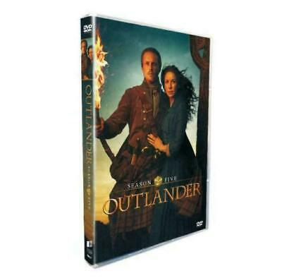 Outlander Season 5 4-Disc DVD 2020 Brand New and Sealed