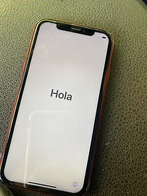 Apple iPhone XR 64gb Unlocked Product Red Used