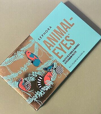 SEPHORA COLLECTION ANIMAL EYES EYESHADOW PALETTE  - 8 SHADOW PALETTE