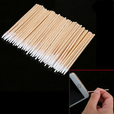 200Pcslot Cotton Stick Clean Tool for Phone Charge Port -Earphone Jack Repair