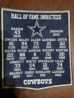 🏈NEW 6 X 7 DALLAS COWBOYS HALL OF FAME BANNER FREE SHIP🏈C1