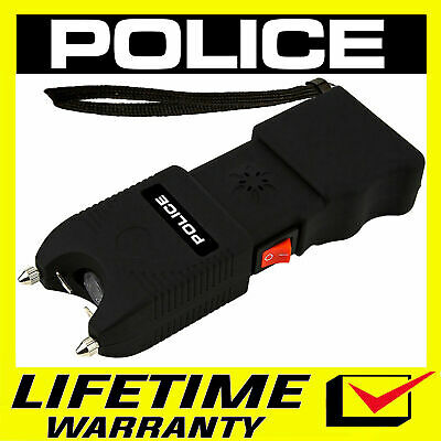 POLICE Stun Gun 928 640 BV Heavy Duty Rechargeable LED Flashlight