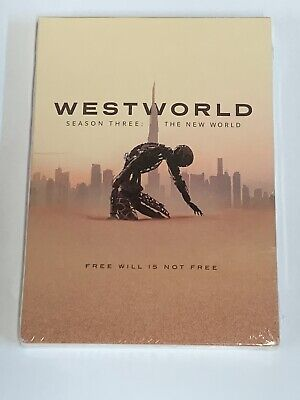 Westworld Season Three The New World DVD