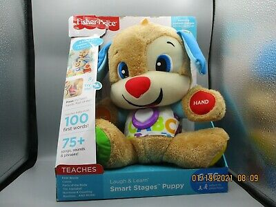 Fisher-Price FDF21 Laugh - Learn Smart Stages Toy Puppy