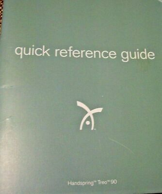 Palm Handspring Treo 90 Quick Reference Guide REDUCED PRICE Excellent Condition