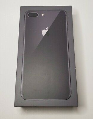 Iphone 8 Plus Empty Box Only 64GB Space Gray winstructions and Apple sticker