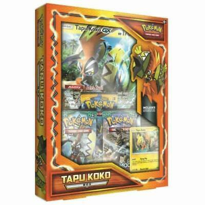 POKEMON TCG TAPU KOKO INTERNATIONAL BOX NIP  FACTORY SEALED