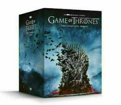 Game of Thrones The Complete Series Season 1-8 DVD38-Disc Box Set Brand New