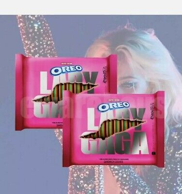 LADY GAGA OREO Chromatica Sandwich Cookies Limited Edition 12-2oz IN HAND NOW