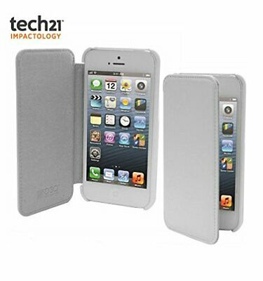 Tech21 Impact Snap Case with Cover for Apple iPhone 5C - White