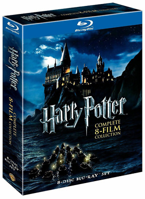 Harry Potter Complete 8-Film Collection 8-Disc Set BLU-RAY 2011NewSealed