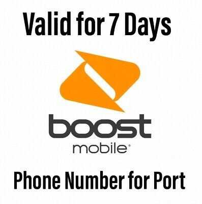 Boost Prepaid Numbers For Port In Port Out Switch Carrier 40 Min Delivery
