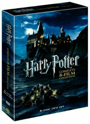 Harry Potter Complete 8-Film Collection DVD 2011 8-Disc Set Brand New