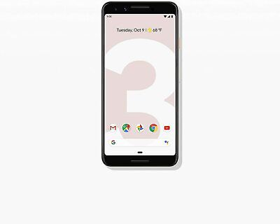 Google - Pixel 3 with 64GB Memory Cell Phone Unlocked - Not Pink - New SEALED