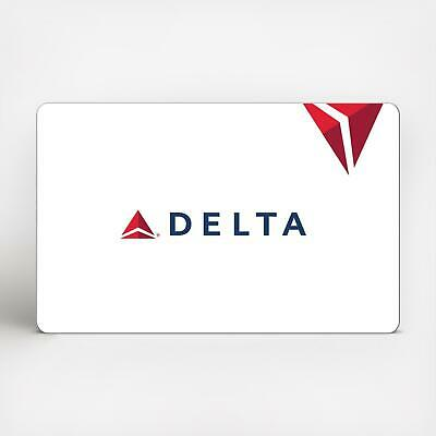 Delta Airlines 250 Gift card