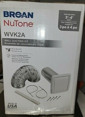 Broan NuTonr WVK2A Wall Ducting Kit
