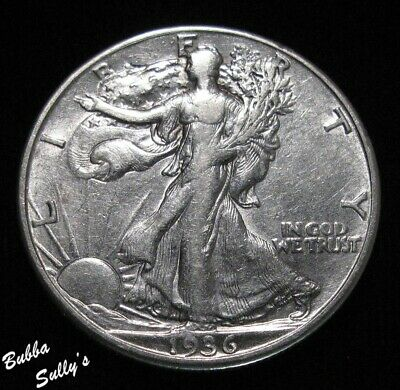 1936 D Walking Liberty Half Dollar <> EXTREMELY FINE