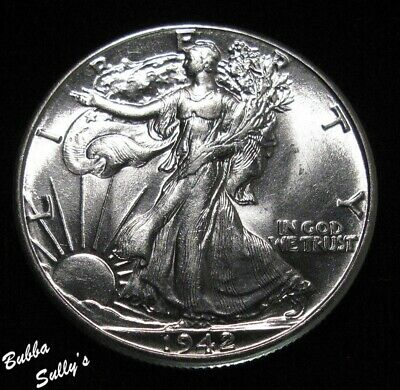 1942 Walking Liberty Half Dollar <> UNCIRCULATED