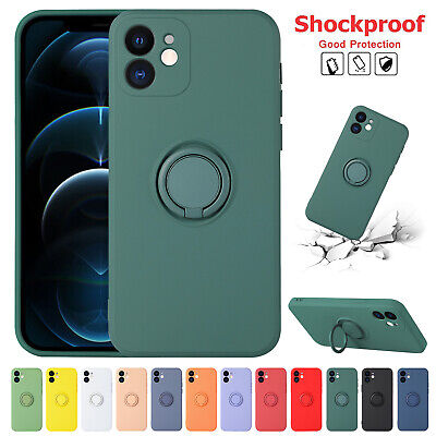 Liquid Silicone Case Camera Lens Cover For iPhone 12 11 Pro XS Max XR X 8- 7 SE2