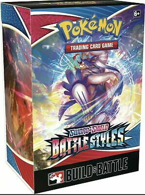 Pokémon TCG Sword - Shield Battle Styles Build - Battle Box SEALED