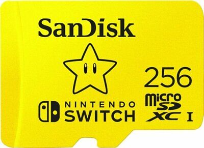 SanDisk 256GB MicroSDXC UHS-I Memory Card Micro SD for Nintendo Switch 256 GB