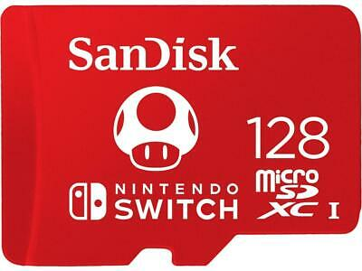 SanDisk 128 GB Micro SD XC Memory Card  for Nintendo Switch Or Switch Lite