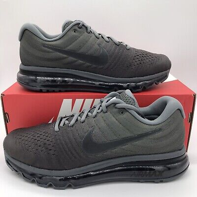 Nike Air Max 2017 Cool Grey Anthracite Men Multi Size 849559-008 NEW FREE SHIP