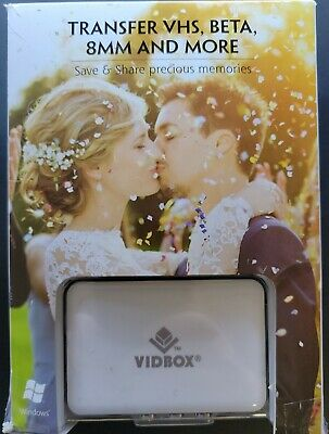 VIDBOX Video Conversion For PC Analog to Digital Video Transfer Solution Open BX