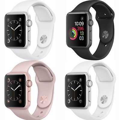 Apple Watch Series 2 38mm  42mm Smart Watch Aluminum Case with Sport Band