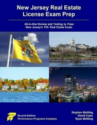 New Jersey Real Estate License Exam Prep  All-In-One Review and Testing to Pas…