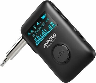 Mpow Bluetooth Receiver Bluetooth 5-0 Receiver with Display Screen