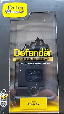 77-54912-OtterBox Defender Series Case for iPhone 6 iPhone 6s- Black