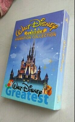 DISNEY CLASSICS ANIMATION COLLECTION 24-MOVIE New - Sealed Free Shipping
