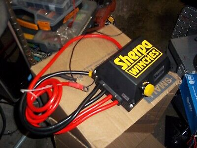 New sherpa winches  dc 24 volt  connector box