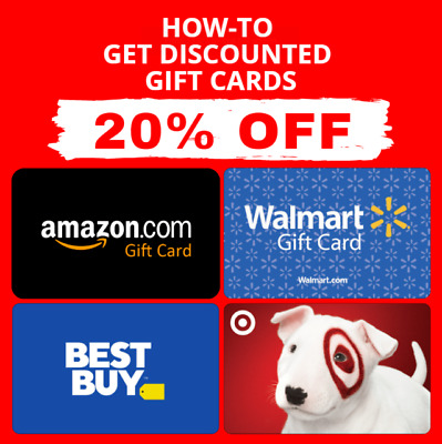 PDF GUIDE ▶️🔥Get Amazon Gift Card Walmart Target  Best Buy Gift Card 5-20 OFF