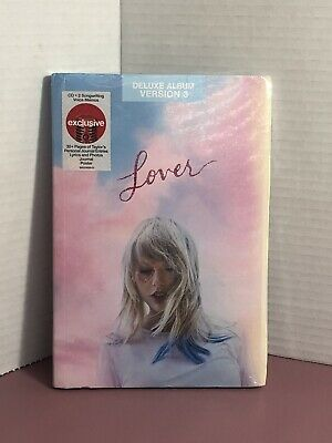 TAYLOR SWIFT Lover Deluxe Album Version 3 CD with Target Exclusives