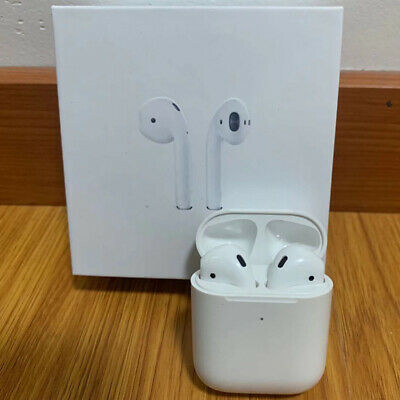 100SEALED Apple AirPods 2nd Generation Wireless Earbuds - Charging Case