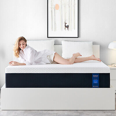 Molblly 8 Inch Full Size Memory Foam Mattress With Pressure Relief Bed In A Box